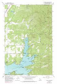Idaho On Map Hayden Lake Topographic Map Id Usgs Topo Quad 47116g6