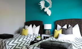 chambre bleu turquoise et taupe décoration chambre bleu turquoise et blanc 78 versailles