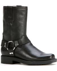 buy boots shoes frye harness pull on boot toddler kid big kid black