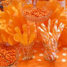 orange themed 4th birthday the cottage