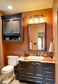 indian lakes mountain lodge style rustic bathroom houston