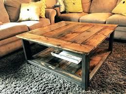 wood plank coffee table plank coffee table wood plank drum coffee table twip me
