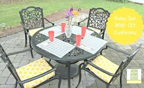 patio chair cushions outdoor patio chair cushion image and