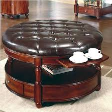 Circle Ottomans Oversized Tufted Ottoman Oversized Tufted Ottoman Coffee Table S