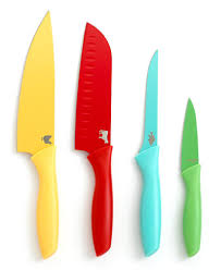 kitchen knife collection martha stewart collection color coded cutlery set of 4 created