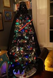 professor brian cox unveils bizarre star wars christmas tree with