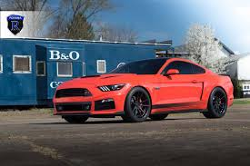 Matte Black Mustang Wheels Ford Mustang S550 Appears With Its New Strips On With The Matte