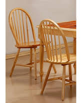 Dining Chair Set Of 4 Fall Sale Hania 2 Tone Windsor Spindle Back Dining Chairs Set Of
