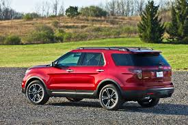 2012 Ford Exploer Next Ford Explorer To Adopt Rear Wheel Drive Platform Spawn