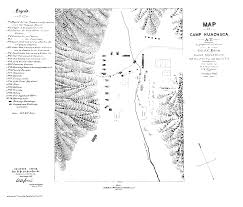 Arizona On Map by The United States Army Fort Huachuca Az