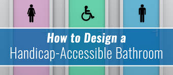 How Many Handicap Bathrooms Are Required How To Design A Handicap Accessible Bathroom One Point Partitions