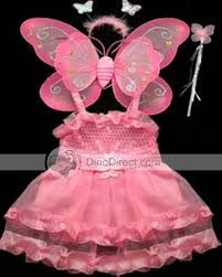 Pink Butterfly Halloween Costume Babyfine Delicate Christmas Butterfly Wings Kids Costume Props