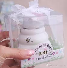 honey jar wedding favors 2017 meant to bee ceramic honey pot wedding gift porcelain honey