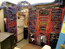 a look inside itt tech u0027s server room cablegore