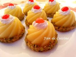 fan de cuisine tartelettes au citron gâteaux orientale mini