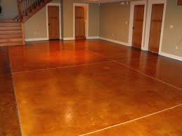 basement flooring options grey pattern concrete floor bestdiy