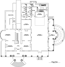 floor plan the o u0027donnell house