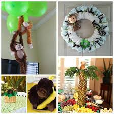monkey decorations for baby shower the 25 best monkey baby shower decorations ideas on