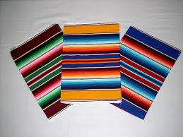 Serape Table Runner El Paso Rugs