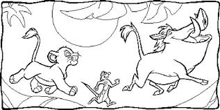 coloring pages cute lion king coloring games pages simba