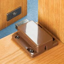 touch latch cabinet hardware magnetic push latch rockler woodworking and hardware