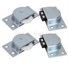Closet Door Rollers Shop 2 Pairs Of Closet Sliding Door Roller Closet Door