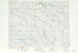 Nd Map New Rockford Topographic Maps Nd Usgs Topo Quad 47098a1 At 1
