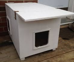 free building plans outdoor cat house outdoor cat house