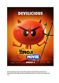 the emoji the emoji trailer movie review full cast free new movie u2026