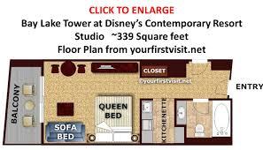 Saratoga Springs Grand Villa Floor Plan Bay Lake Tower 2 Bedroom Villa Home Designs