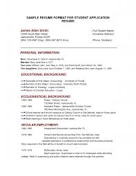 Resume Example For Job Resume Examples Templates The Good 13 Resume Format Examples For