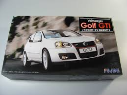 volkswagen car models vw golf v gti fujimi car model kit com
