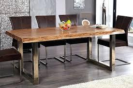 cuisine bois et fer table bois salle a manger awesome table salle a manger bois et fer