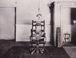 electrocuted prisoner spirit halloween wild about harry houdini and his electric chair
