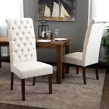 dining chairs amazon dining chairs ring back chair tufted white