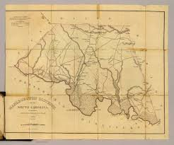 Blank Sc Map by Marlborough District South Carolina David Rumsey Historical