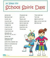high school stuff spirit day ideas classroom school students and pta