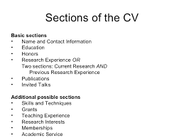 Additional Information On Resume Biomed Postdocs Cv Resumes
