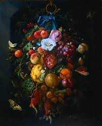 fruit and flowers jan davidsz heem festoon of fruit and flowers