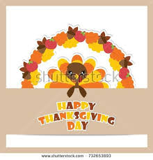 thanksgiving day vintage poster turkey stock illustration