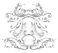 engraving ornament vector stock vector image of abstract 7209309