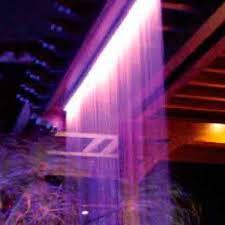 Fiber Optic Curtains Fiber Optic Rain Curtain Waterfall U2014 Fiber Creations