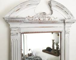 Shabby Chic Large Mirror by Large Wall Mirror Etsy