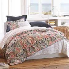 bedding set navy blue bedspread queen cotton polyester fill