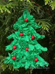 craft for paper tree ornament