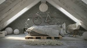 attic loft awesome atmospheric white attic loft decoholic