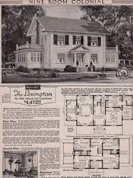 center colonial floor plan tour a real sears roebuck and co mail order craftsman home