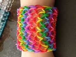 bracelet dragon rainbow images Rainbow loom dragon scale cuff tutorial by socraftastic jpg
