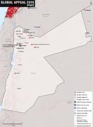 Jordan Country Map Jordan Two Year Scenario Analysis
