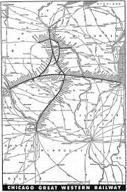 Chicago Traffic Maps by The Chicago Great Western Railway